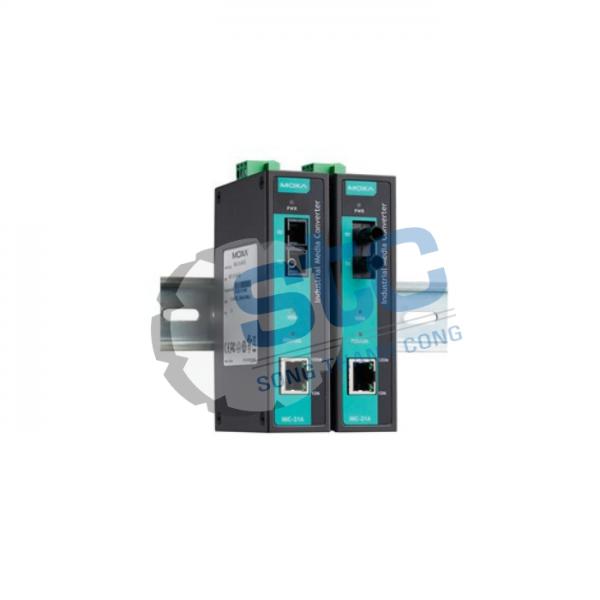 Moxa - IMC-21A-S-SC- Bộ chuyển mạch