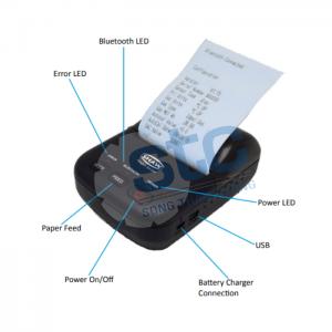 Shaw - SDH-BTP – Máy in Bluetooth